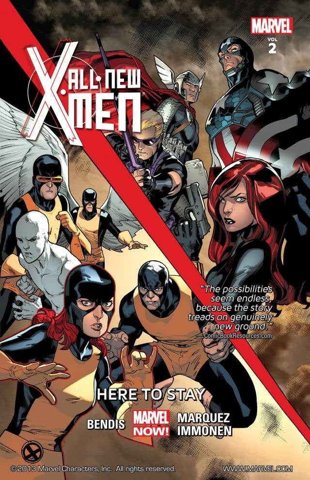 All-New X-Men Tome 2: Here To Stay