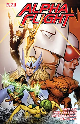 Alpha Flight by Greg Pak & Fred Van Lente Tome 1
