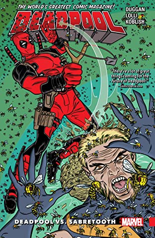 Deadpool: World's Greatest Tome 3: Deadpool vs. Sabretooth