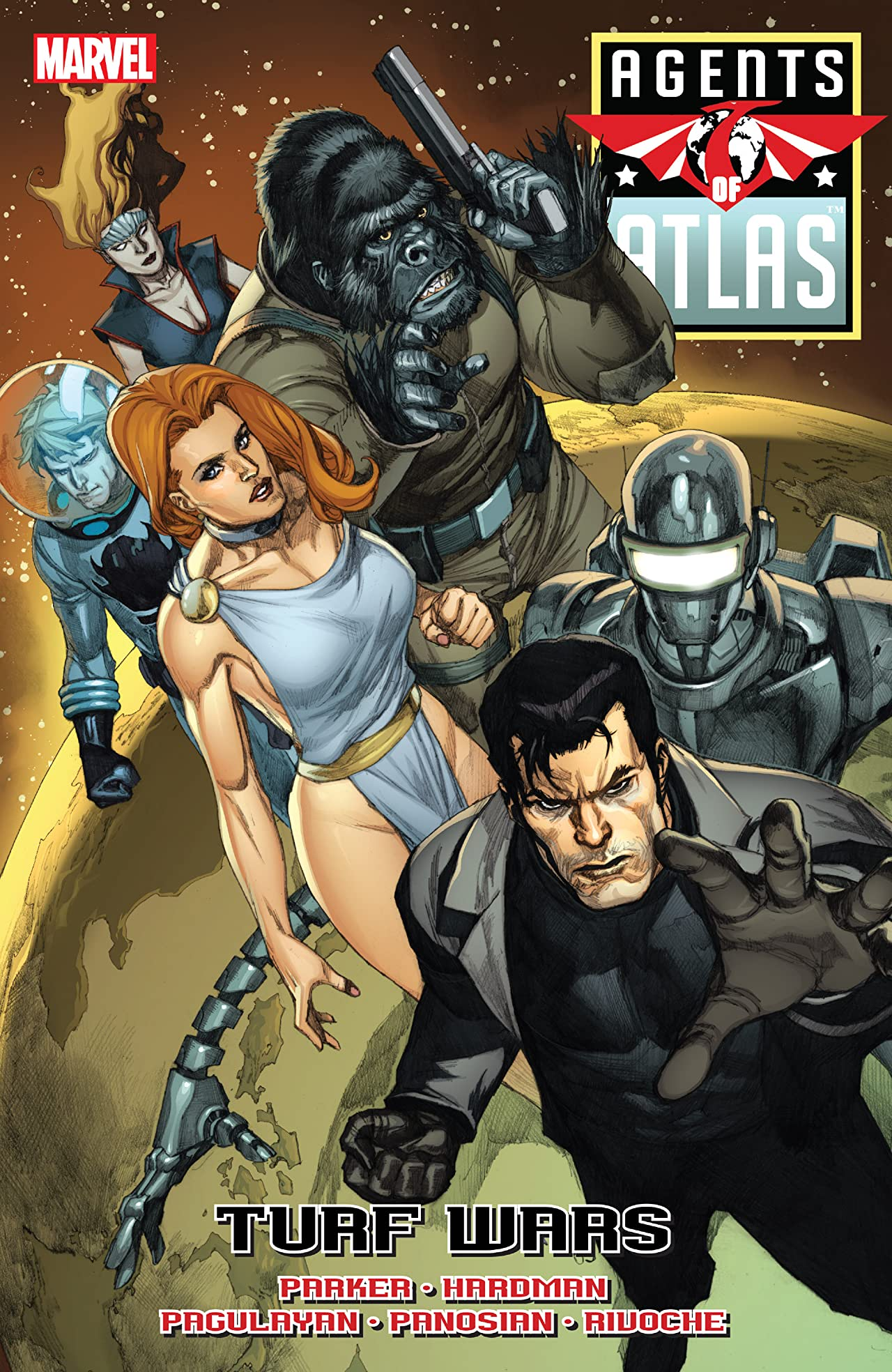 Agents of Atlas: Turf Wars