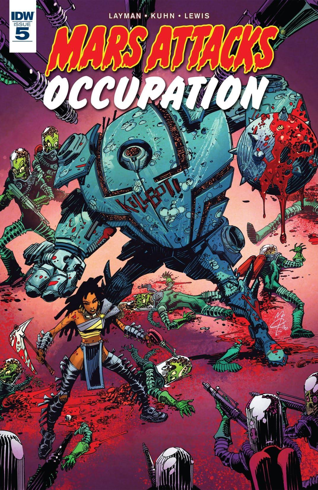 Mars Attacks: Occupation #5 (of 5)