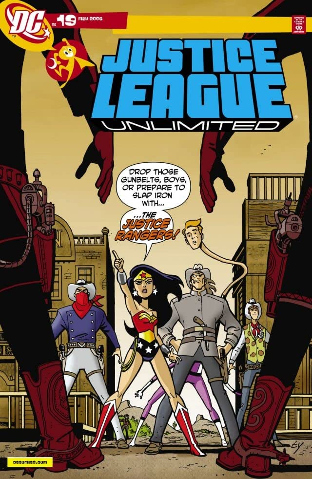 Justice League Unlimited #19