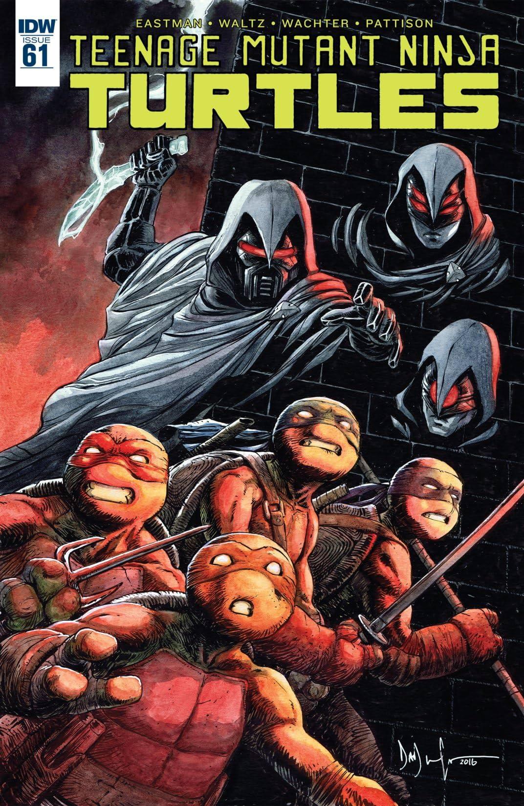 Teenage Mutant Ninja Turtles #61