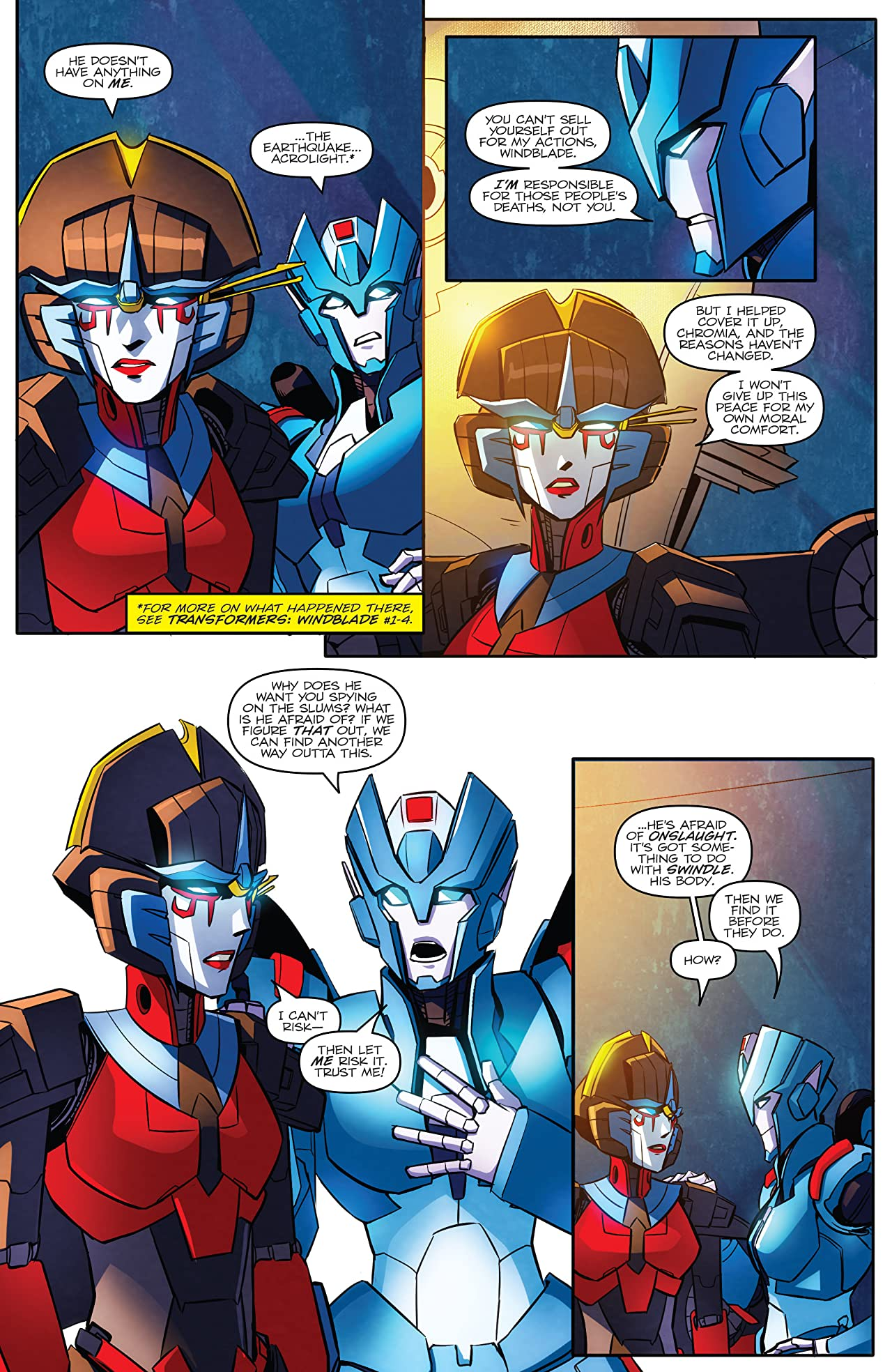 Transformers: Till All Are One #3