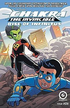 Stan Lee's Chakra The Invincible: Rise of Infinitus #6
