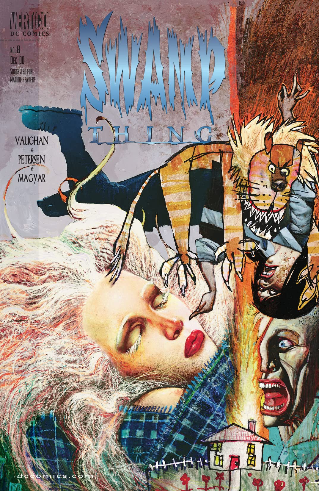 Swamp Thing (2000-2001) #8