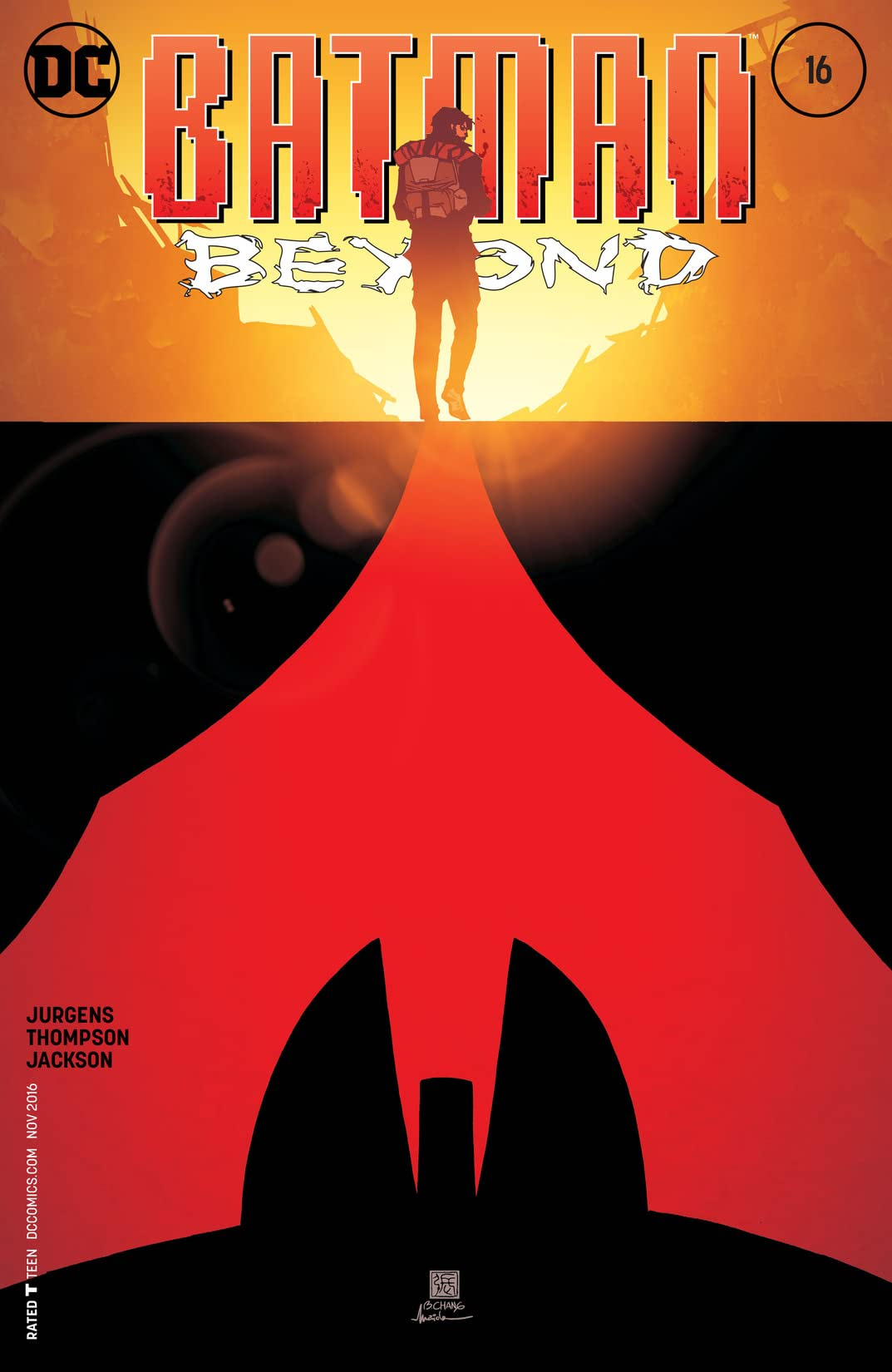 Batman Beyond (2015-2016) #16