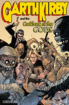 Garth Kirby and the Cookbook of the Gods #1