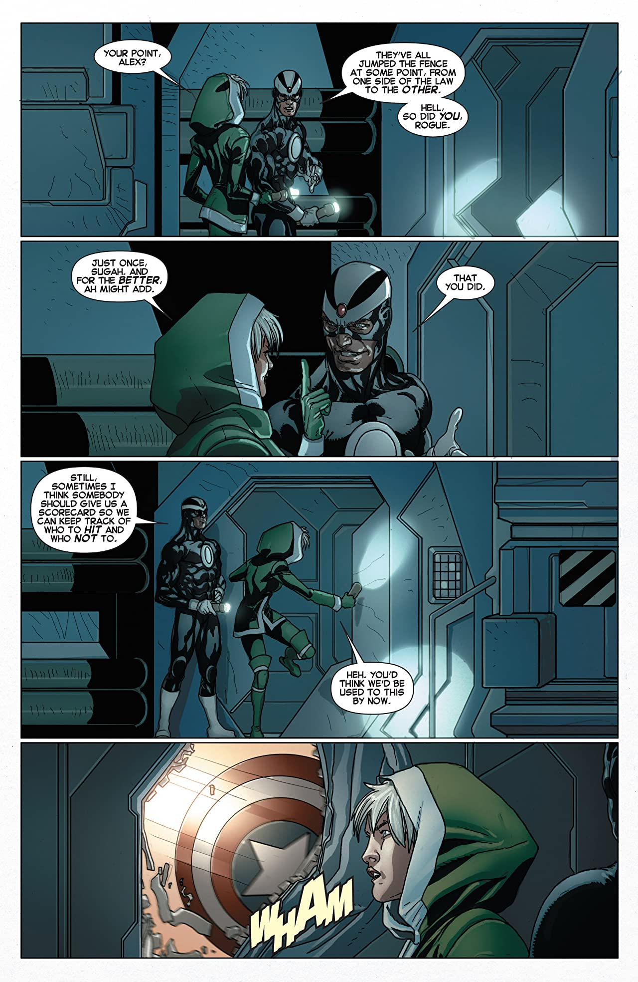 Cable and X-Force #9