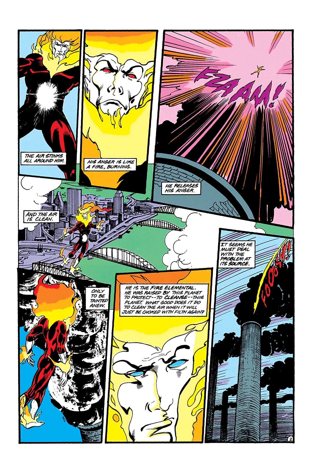 Firestorm: The Nuclear Man (1982-1990) #86