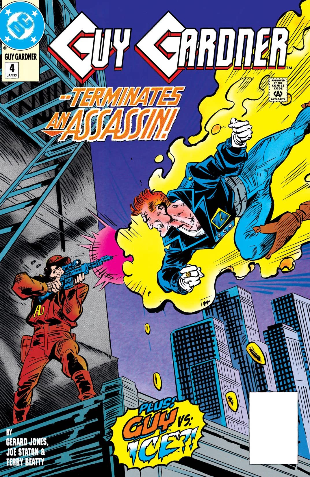 Guy Gardner: Warrior (1992-1996) #4
