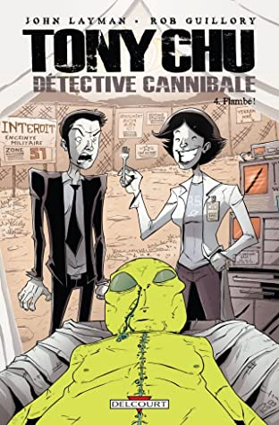 Tony Chu, détective cannibale Tome 4: Flambé !