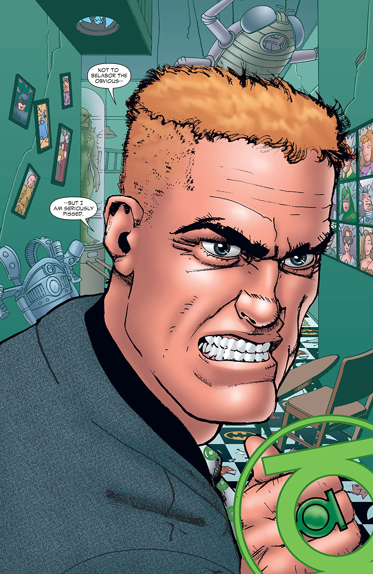 Guy Gardner: Collateral Damage (2006) #2