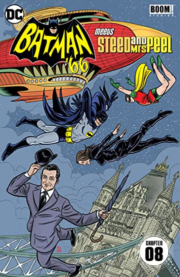 Batman '66 Meets Steed and Mrs Peel (2016) #8