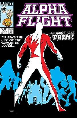 Alpha Flight (1983-1994) #11