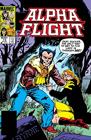 Alpha Flight (1983-1994) #13
