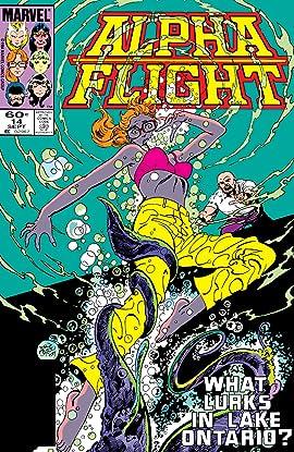 Alpha Flight (1983-1994) #14