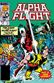 Alpha Flight (1983-1994) #17