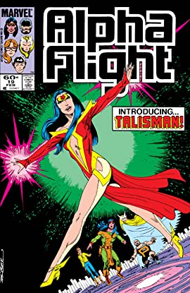 Alpha Flight (1983-1994) #19