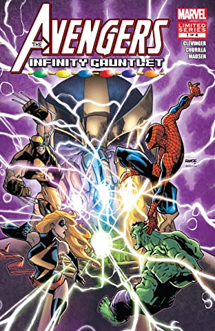 Avengers & The Infinity Gauntlet (2010) No.1 (sur 4)