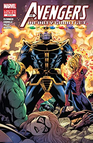 Avengers & The Infinity Gauntlet (2010) No.2 (sur 4)