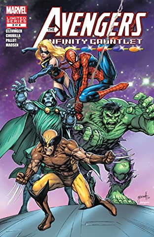 Avengers & The Infinity Gauntlet (2010) No.3 (sur 4)
