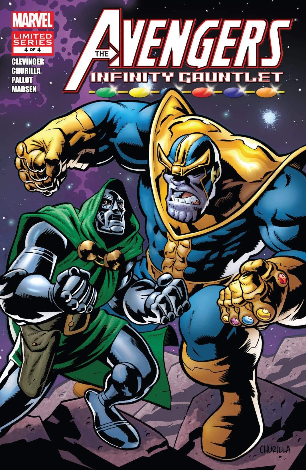 Avengers & The Infinity Gauntlet (2010) #4 (of 4)