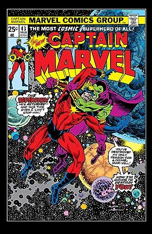 Captain Marvel (1968-1979) No.43