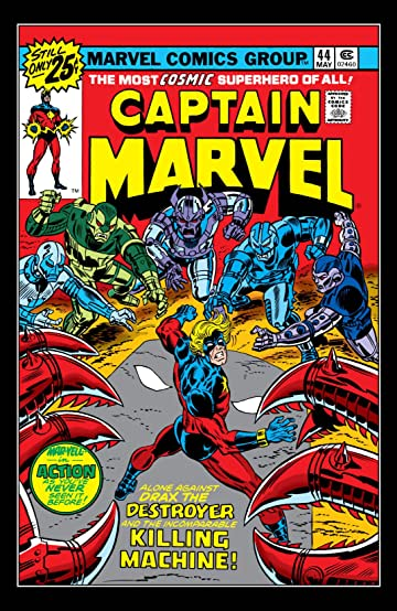 Captain Marvel (1968-1979) #44