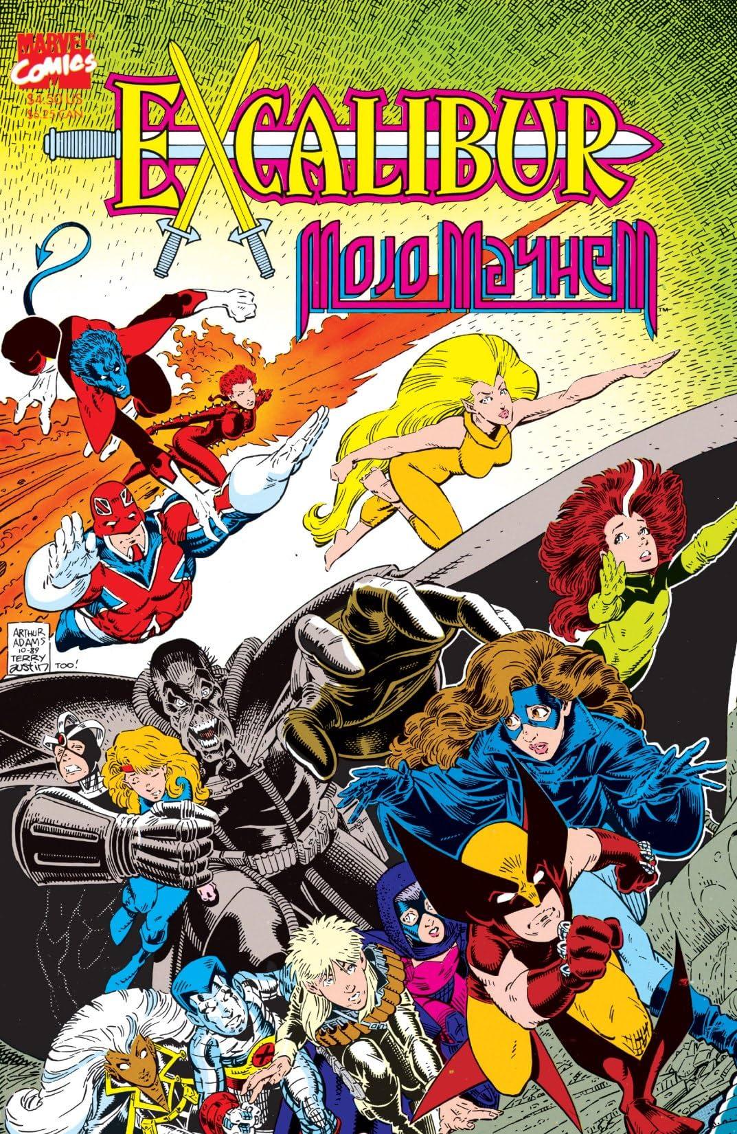 Excalibur: Mojo Mayhem (1990) #1