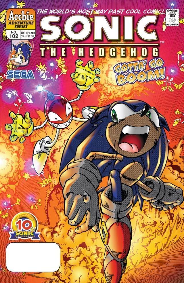 Sonic the Hedgehog #102
