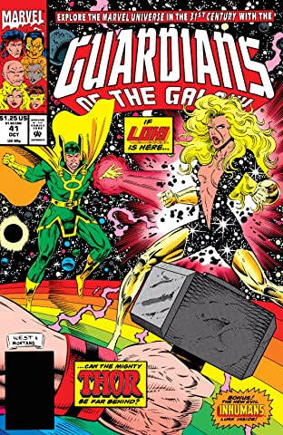 Guardians of the Galaxy (1990-1995) #41