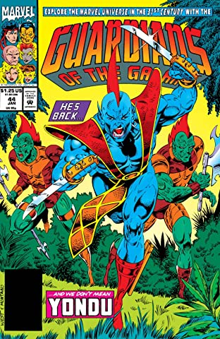Guardians of the Galaxy (1990-1995) #44