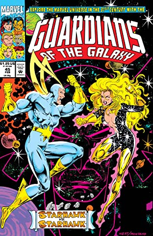Guardians of the Galaxy (1990-1995) #45