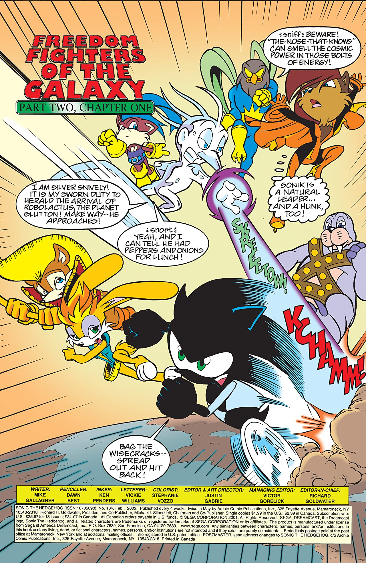 Sonic the Hedgehog #104