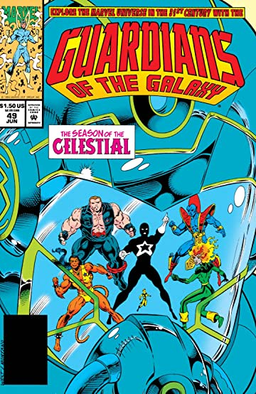 Guardians of the Galaxy (1990-1995) #49