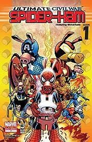 Ultimate Civil War: Spider-Ham (2007) #1