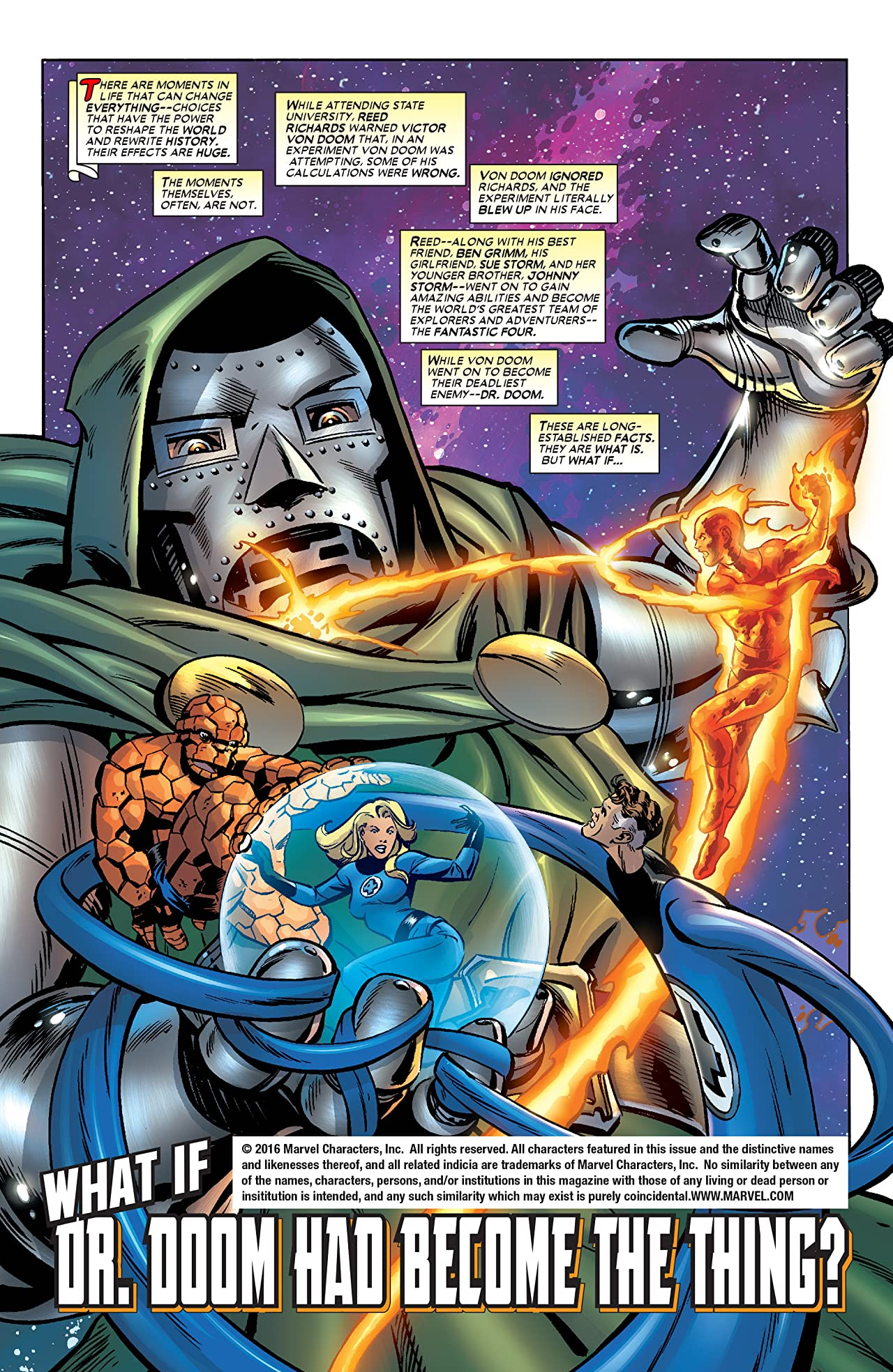 What If Doctor Doom Had Become The Thing? (2004) #1