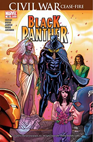 Black Panther (2005-2008) #18