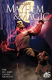 Mayhem and Magic (The Reliquary Series): The Graphic Novel