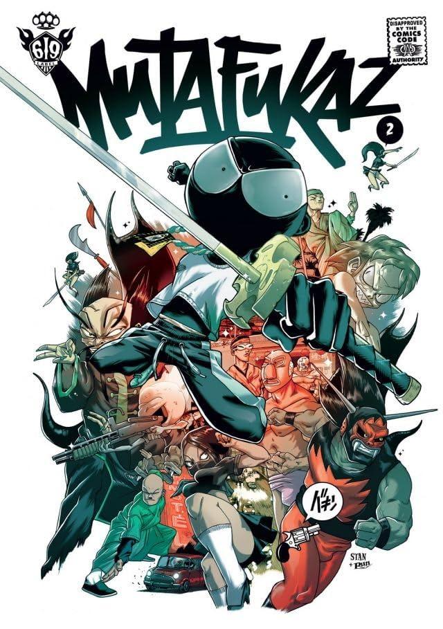 Mutafukaz Vol. 2: Troublants Trous noirs