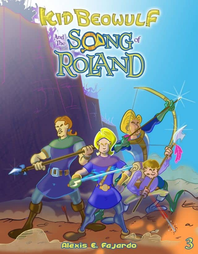 Kid Beowulf and the Song of Roland #3