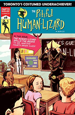 Pitiful Human-Lizard #9