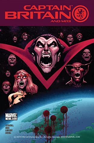 Captain Britain and MI: 13 #12
