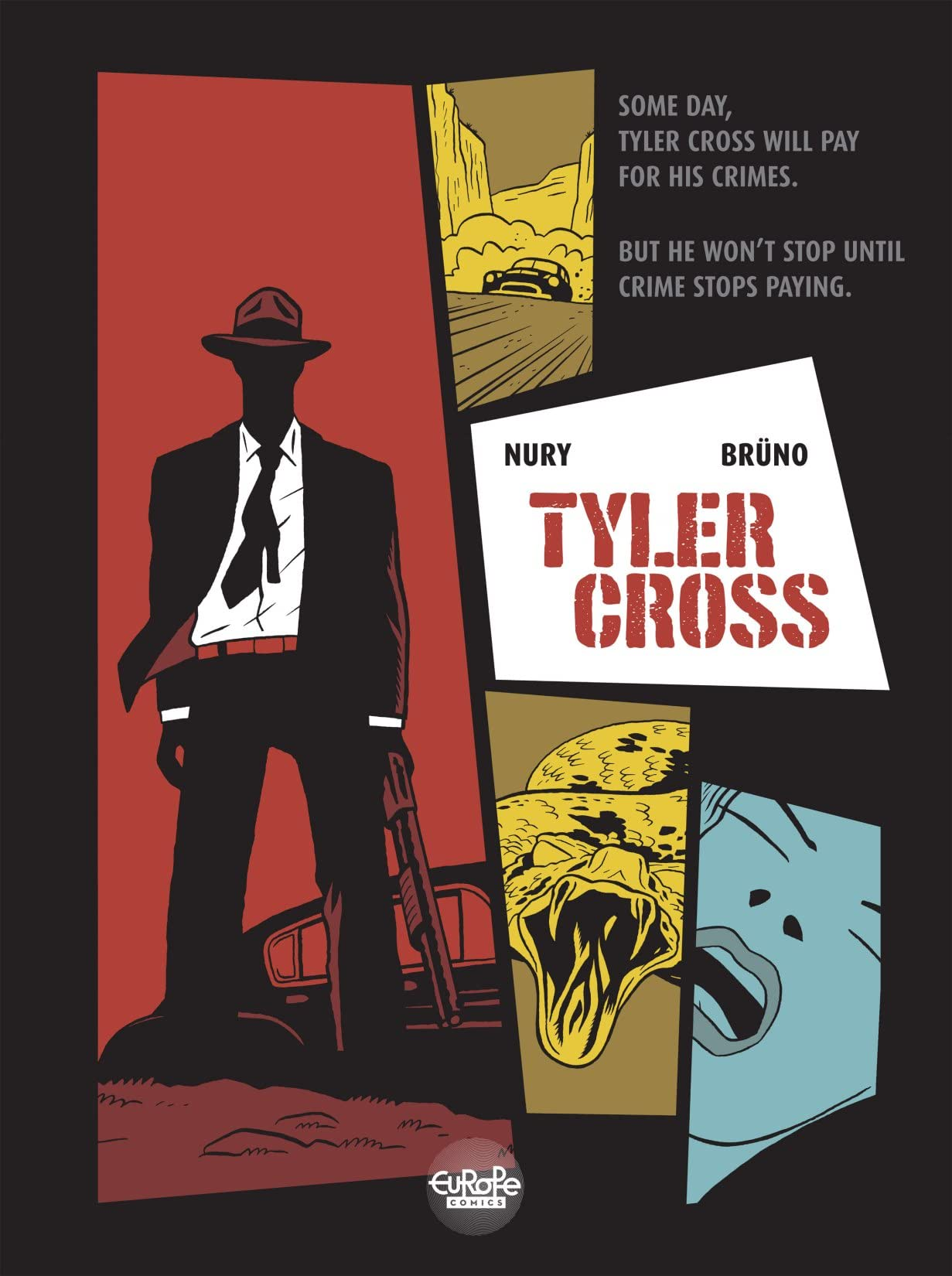 Tyler Cross Vol. 1: Black Rock
