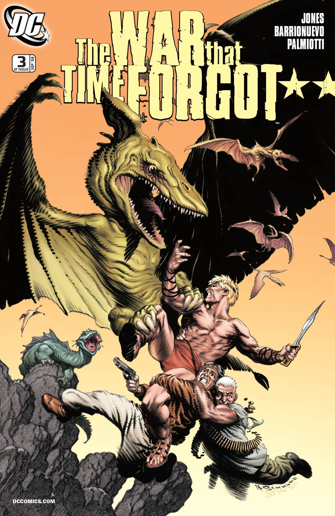 The War That Time Forgot (2008-2009) #3