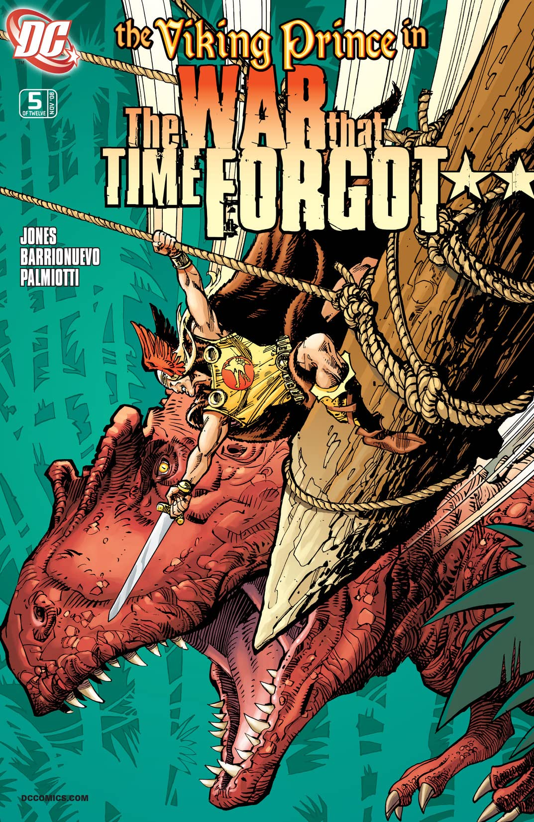 The War That Time Forgot (2008-2009) #5