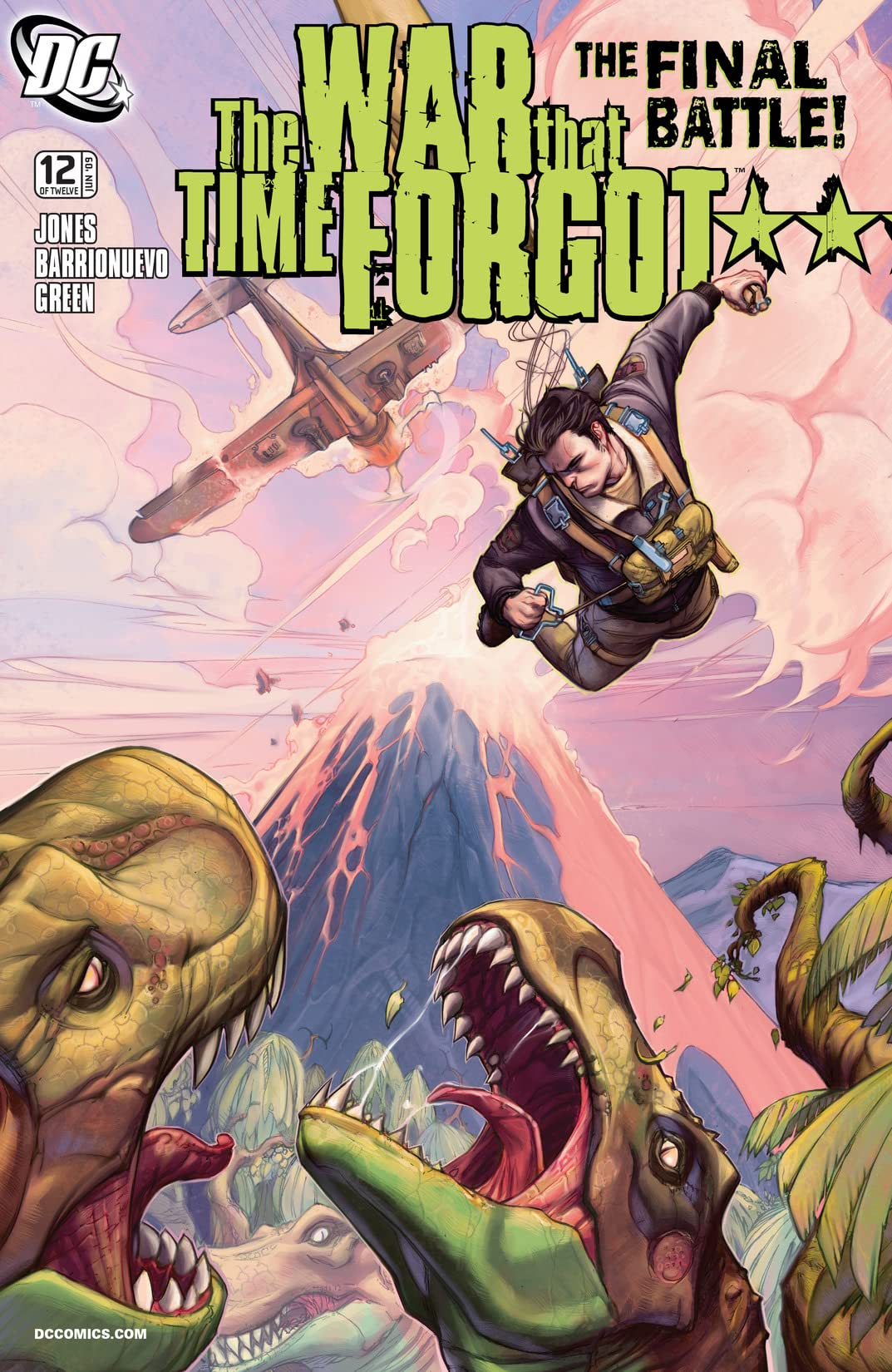 The War That Time Forgot (2008-2009) #12