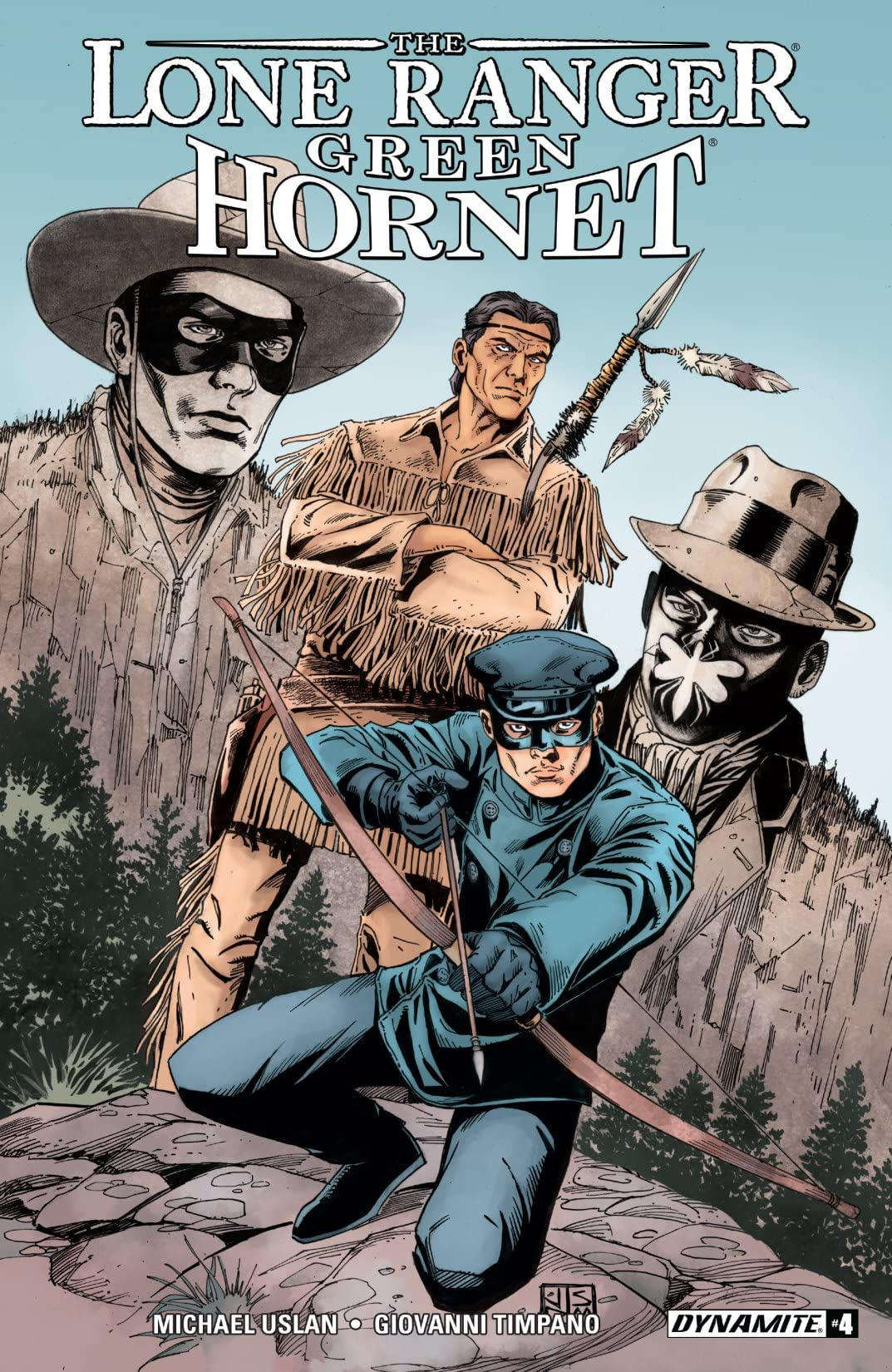 Lone Ranger/Green Hornet #4: Digital Exclusive Edition