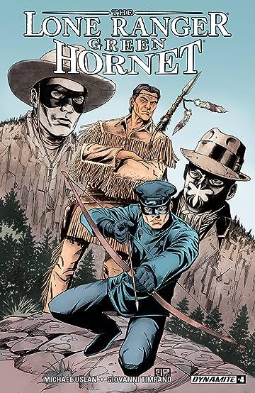 Lone Ranger/Green Hornet #4: Digital Exclusive Edition